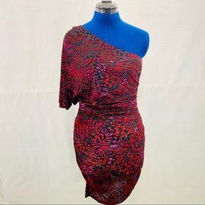Moda International Velvet Cocktail Dress Size M